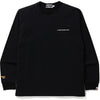 A BATHING APE CORDURA WIDE L/S TEE MENS