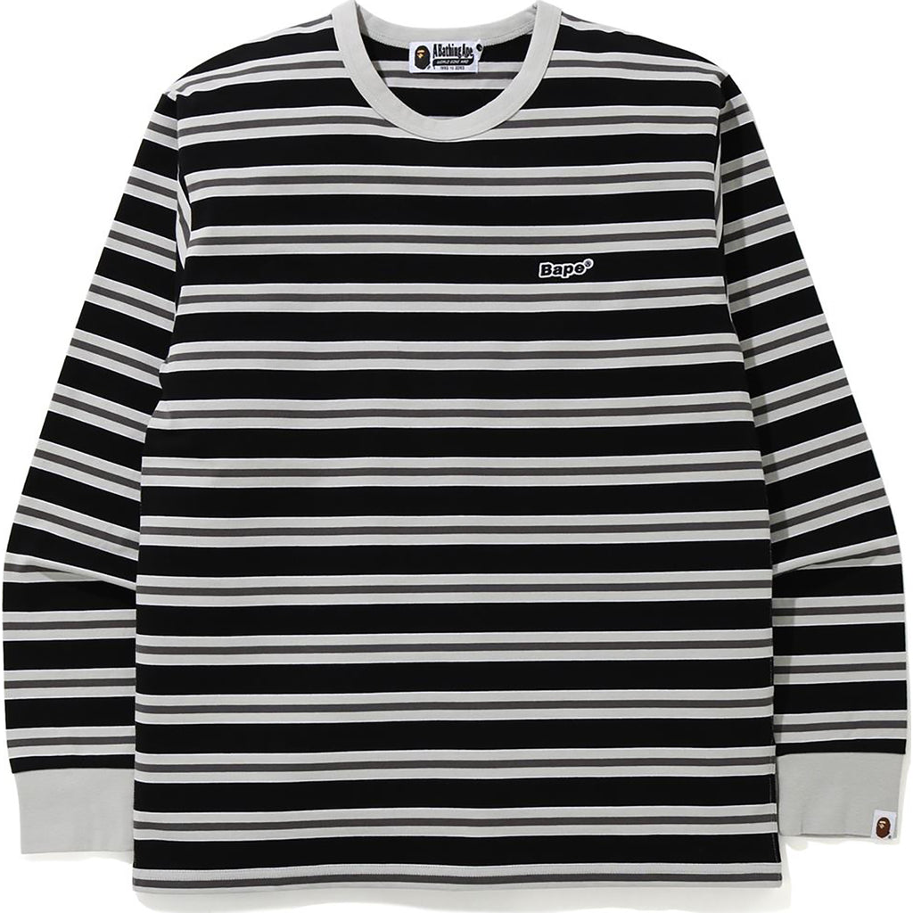 BAPE PATCHED HOOP L/S TEE MENS