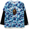 ABC CAMO COLLEGE LAYERED L/S TEE KIDS