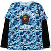 ABC CAMO COLLEGE LAYERED L/S TEE JR KIDS