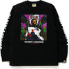BAPE X GILBERT & GEORGE UP GOD L/S TEE MENS