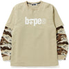 DESERT CAMO LAYERED L/S TEE MENS