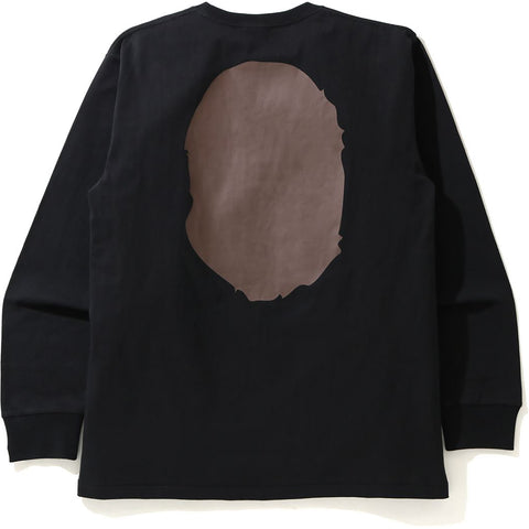 BIG APE HEAD L/S TEE MENS