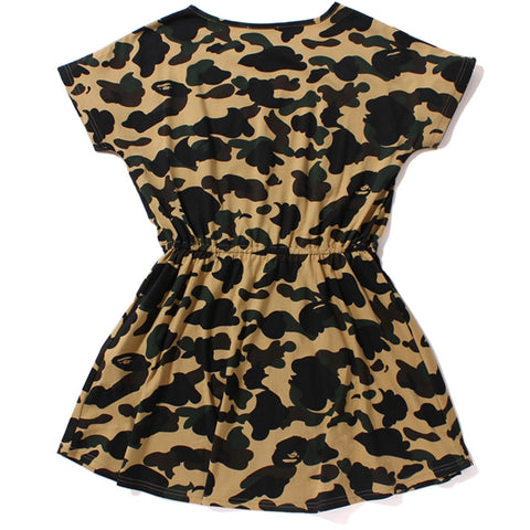 1ST CAMO FLARE DRESS /AP