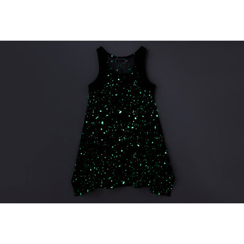 SPACE CAMO SLEEVELESS ONEPIECE LADIES