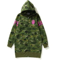 GRADATION CAMO FULL ZIP HOODIE ONEPIECE LADIES