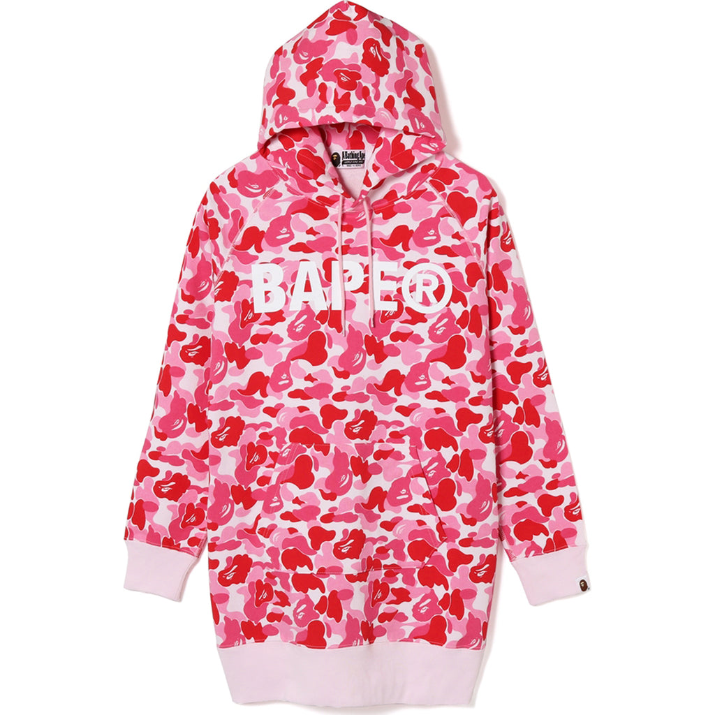 ABC PULLOVER HOODIE ONEPIECE LADIES