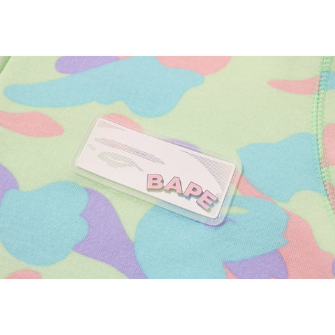 PASTEL MULTI CAMO SHARK FULL ZIP ONEPIECE LADIES