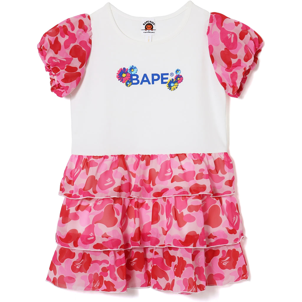 ABC PUFF SLEEVE ONEPIECE KIDS