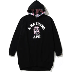 WARM UP CAMO PULLOVER HOODIE ONEPIECE LADIES