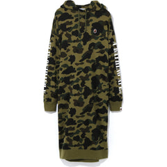 1ST CAMO MAXI HOODIE ONEPIECE LADIES