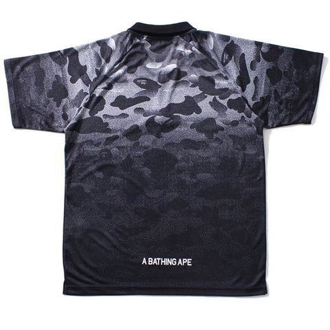 NOISE CAMO HALF ZIP POLO