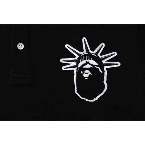 NYC EC LARGE APE HEAD POLO M