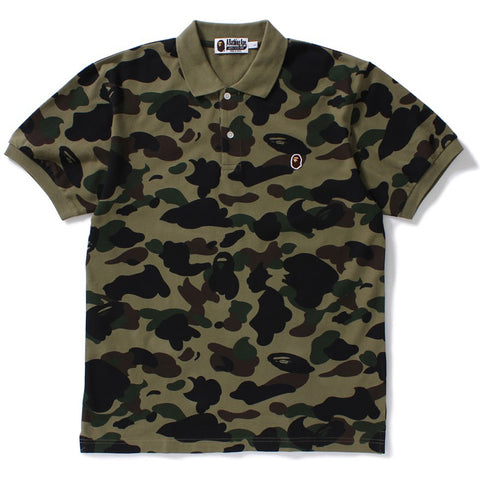 1ST CAMO APE HEAD ONE POINT POLO