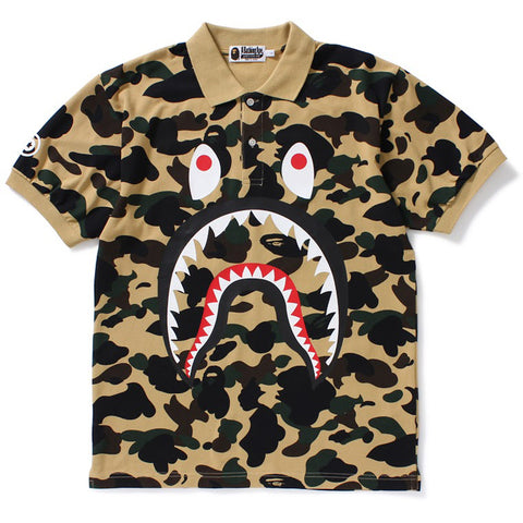 1ST CAMO SHARK POLO M