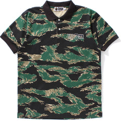 TIGER CAMO SHARK POLO MENS