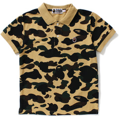 1ST CAMO APE HEAD ONE POINT POLO LADIES