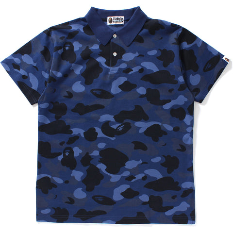 COLOR CAMO OVERSIZED POLO LADIES