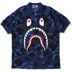 COLOR CAMO SHARK POLO MENS