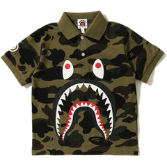1ST CAMO SHARK POLO KIDS