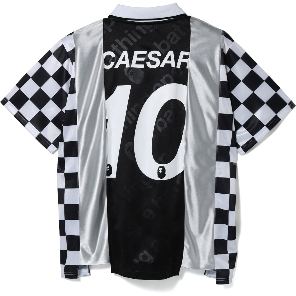 CHECKERED GAME JERSEY MENS