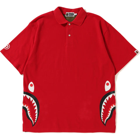 RELAX SILHOUETTE SIDE SHARK POLO MENS