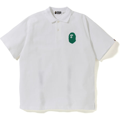 RELAXED BIG LOGO POLO MENS