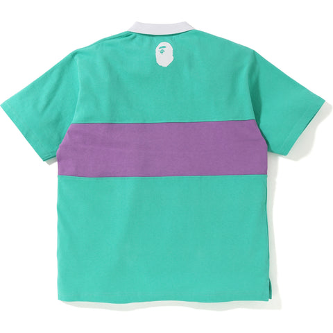 PASTEL COLOR RELAXED POLO MENS