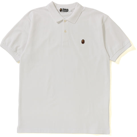 SILICON APE HEAD ONE POINT POLO MENS