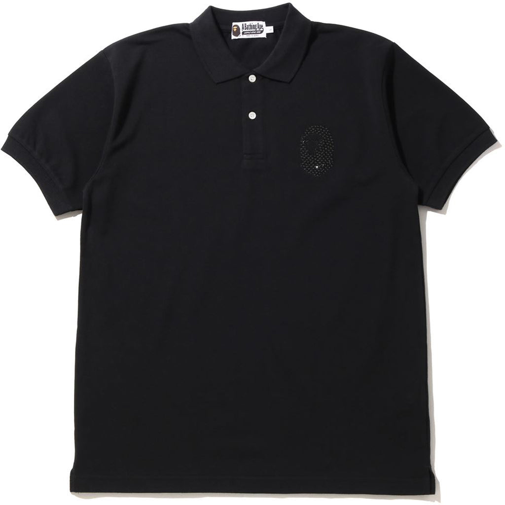 SWAROVSKI  LARGE APE HEAD POLO MENS