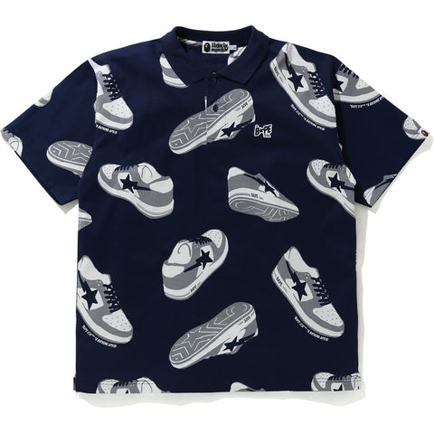RANDOM BAPE STA RELAXED POLO MENS