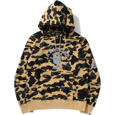 1ST CAMO COLLEGE PULLOVER HOODIE