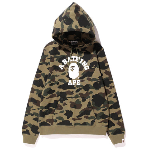 1ST CAMO COLLEGE HOODIE/AP
