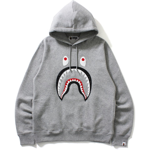 PATENT SHARK PULLOVER HOODIE MENS
