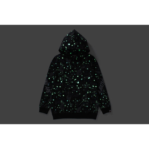 SPACE CAMO OVERSIZED PULLOVER HOODIE LADIES