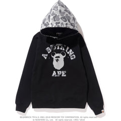 APE HEAD BE@R COLLEGE PULLOVER HOODIE LADIES