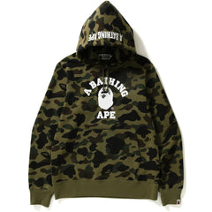 1ST CAMO COLLEGE PULLOVER HOODIE MENS