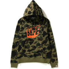 1ST CAMO WIDE PULLOVER HOODIE LADIES