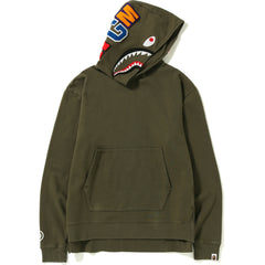 VINTAGE WASH SHARK WIDE PULLOVER HOODIE MENS