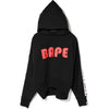 LOGO TAPE SHORT LENGTH PULLOVER HOODIE LADIES