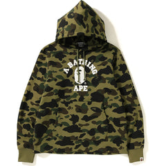 1ST CAMO COLLEGE WIDE PULLOVER HOODIE MENS