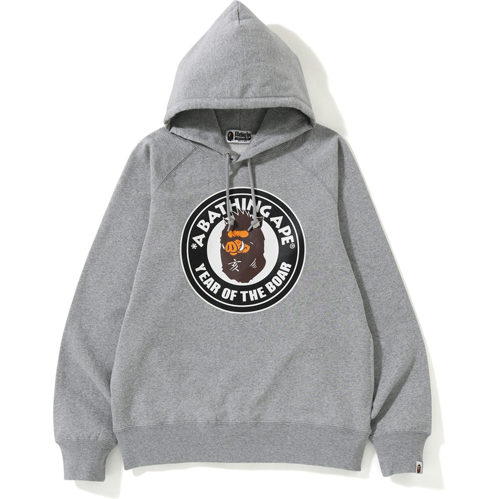 YEAR OF THE BOAR PULLOVER HOODIE MENS