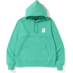 PASTEL COLOR BIG LOGO WIDE PULLOVER HOODIE MENS