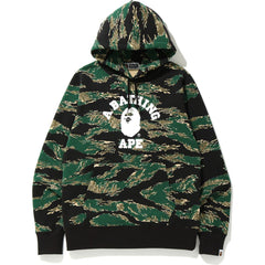 TIGER CAMO COLLEGE PULLOVER HOODIE MENS