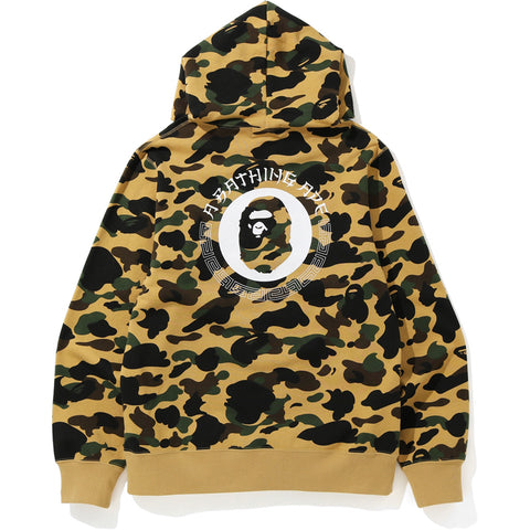 1ST CAMO PULLOVER HOODIE MENS