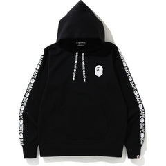 BAPE DOUBLE KNIT PULLOVER HOODIE MENS