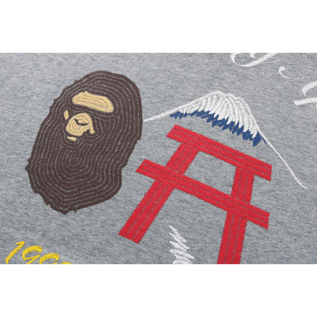 BAPE RELAXED PULLOVER HOODIE MENS