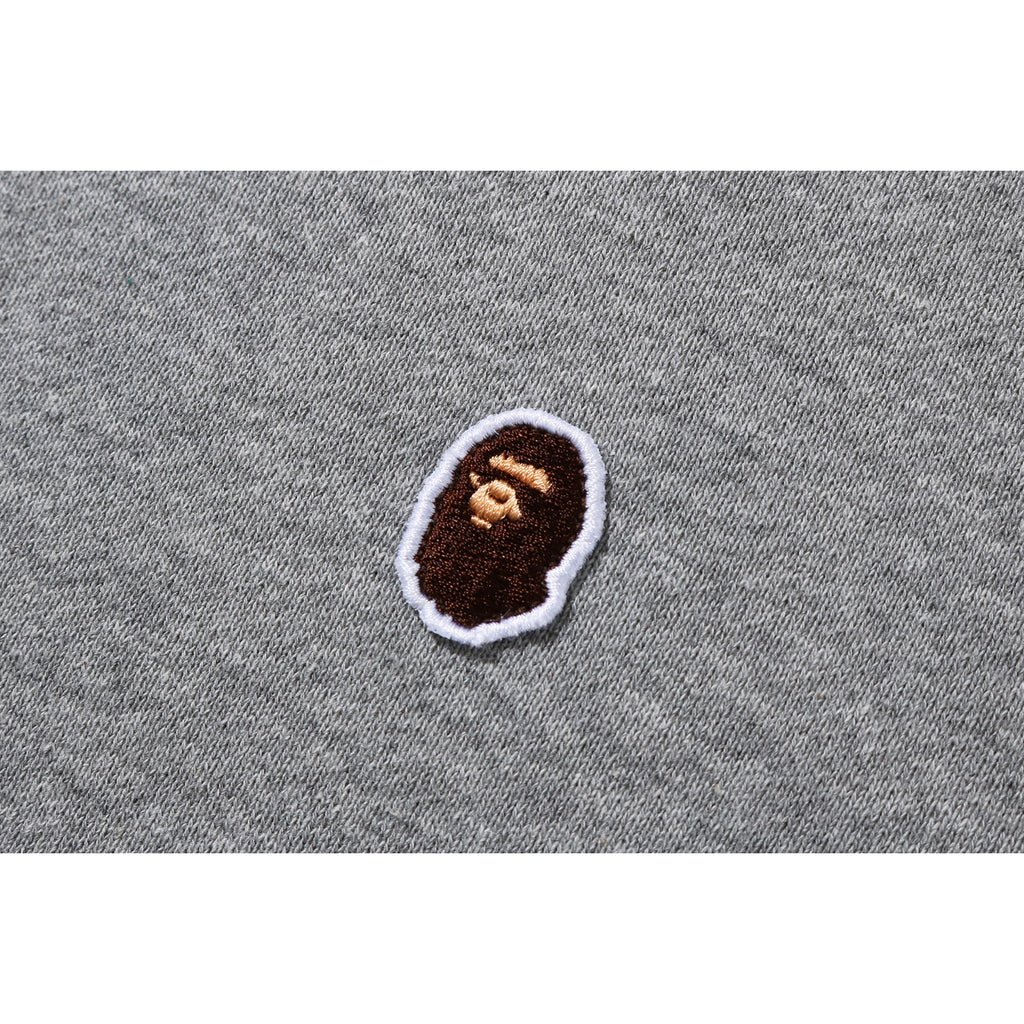 A BATHING APE OVERSIZED PULLOVER HOODIE LADIES