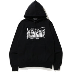 BAPE 27TH ANNIV. FOIL WIDE PULLOVER HOOD MENS
