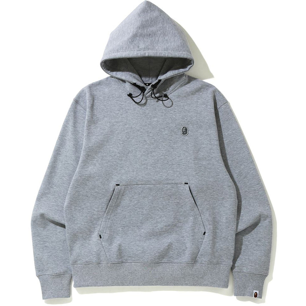 DOUBLE KNIT RELAXED PULLOVER HOODIE MENS